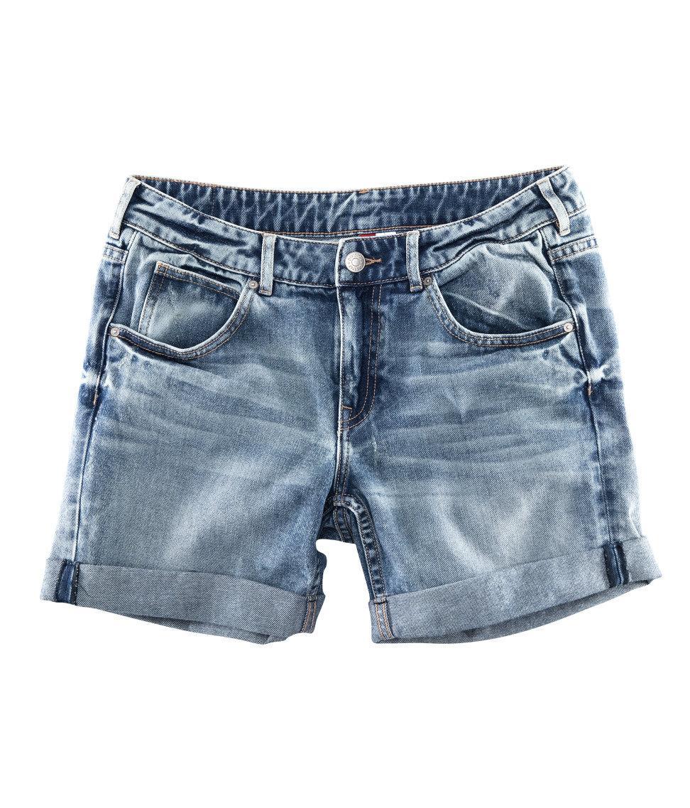 Сделать мужские шорты из джинс 168