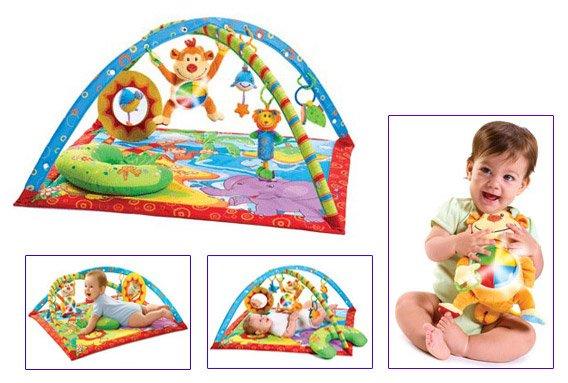 Наборы для творчества, Игрушки, Игрушки по возрасту, Игрушки от 6 мес., Развивающий игровой коврик Tiny Love Остров музыкальной