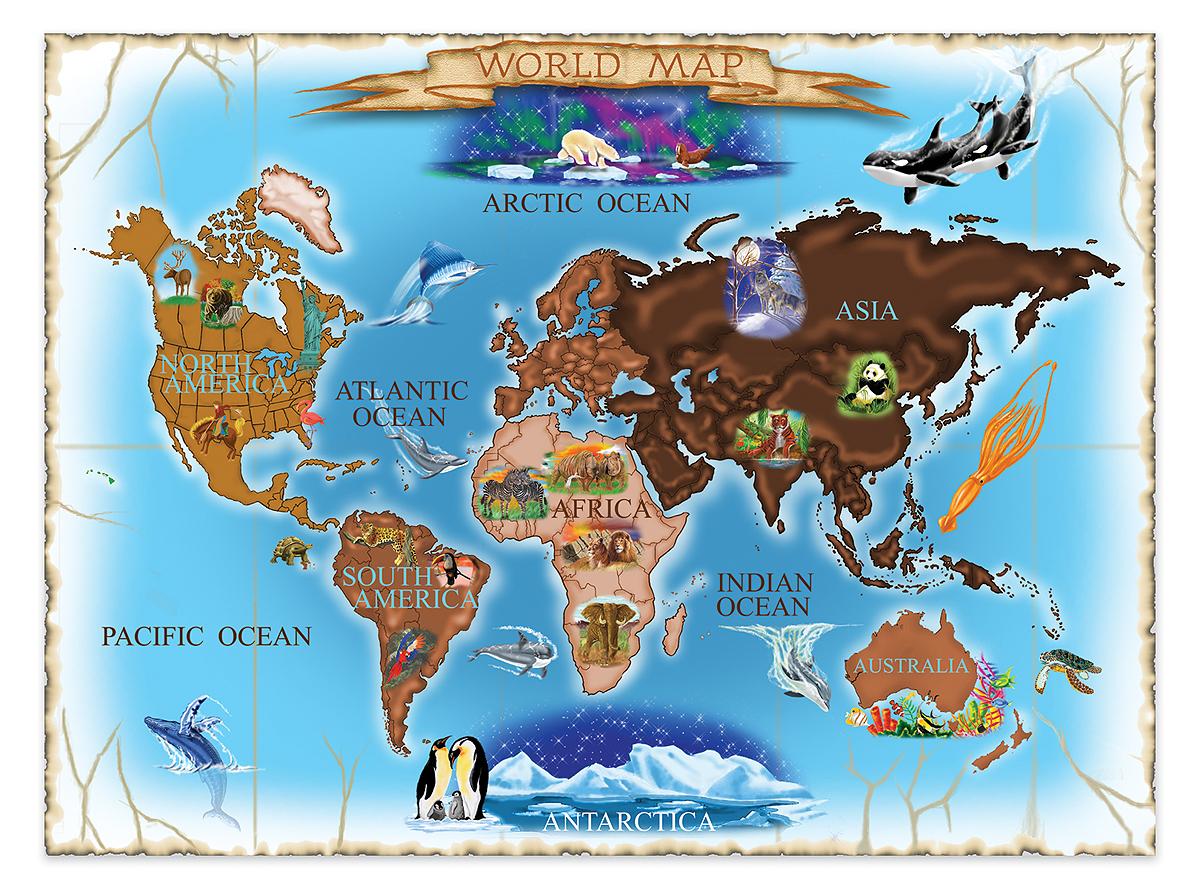 картинка для детей карта сокровищ