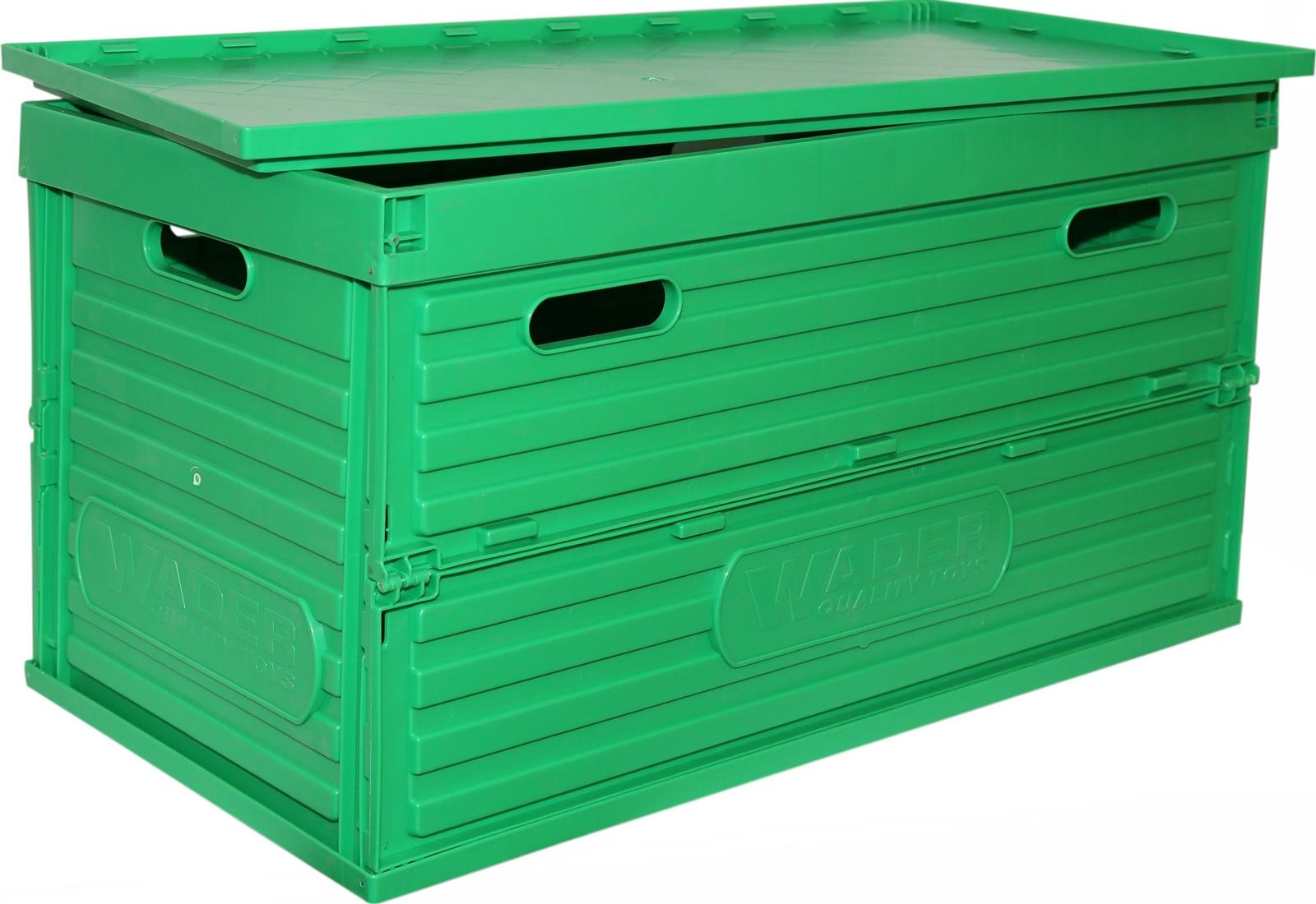 Ящик складной 1 для хранения с крышкой, 795х400х440 мм.